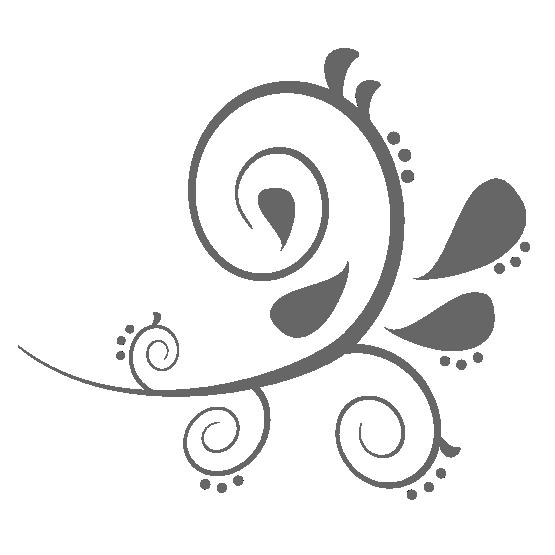 Black white line art. Paisley clipart henna tattoo