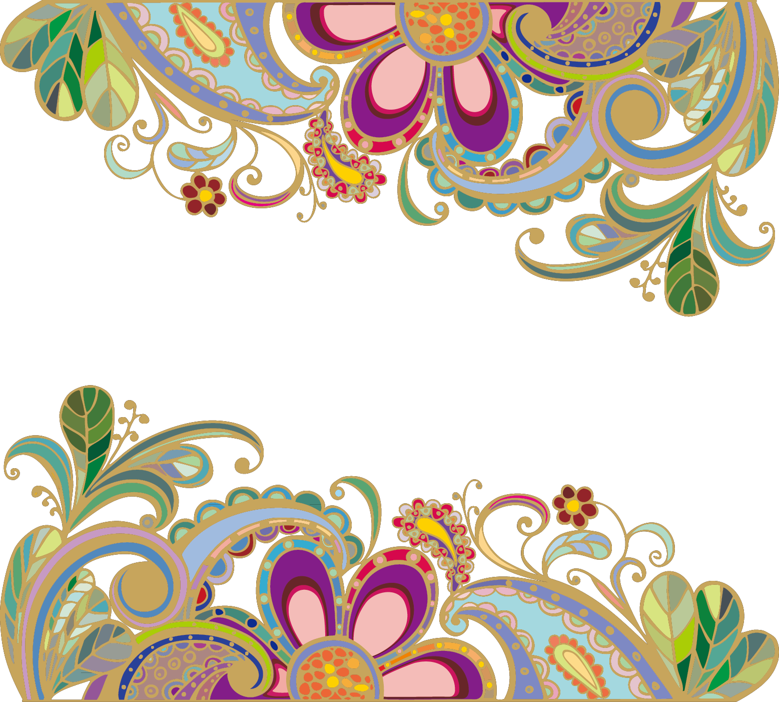 Paisley clipart mango. Wedding invitation flower vintage