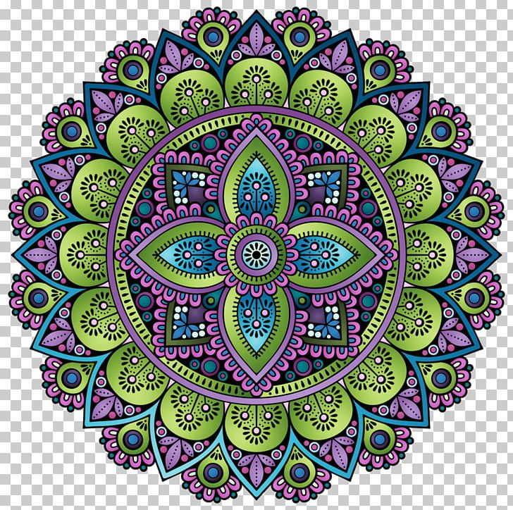 Paisley clipart motif. Circle symmetry png art