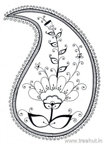 Paisley clipart paisley shape. Pattern