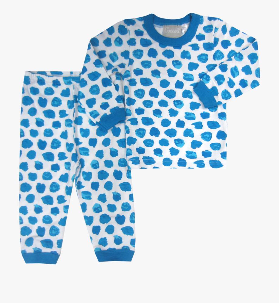 Pajama pyjamas fibonacci dots. Pajamas clipart blue pajamas