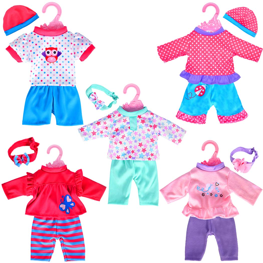 pack playtime outfits. Pajamas clipart baby doll clothes