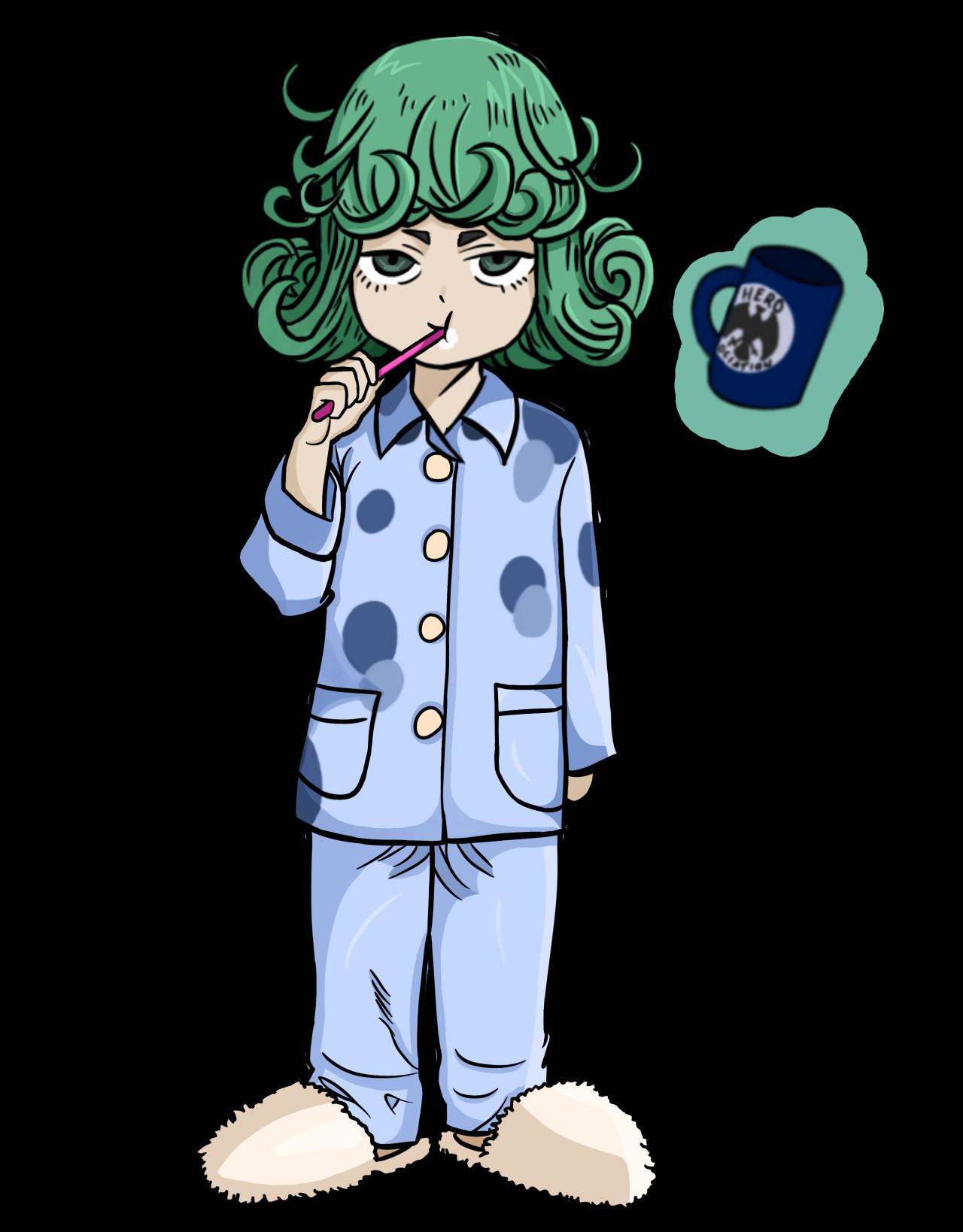 Rowan adorable pjs tatsumaki. Pajamas clipart boy