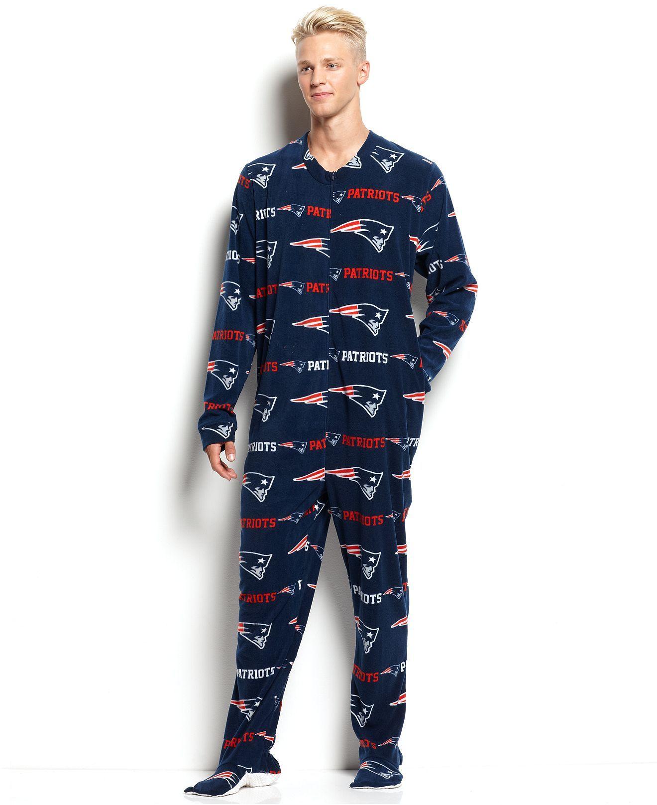 Nfl fleece footie they. Pajamas clipart comfy clothes