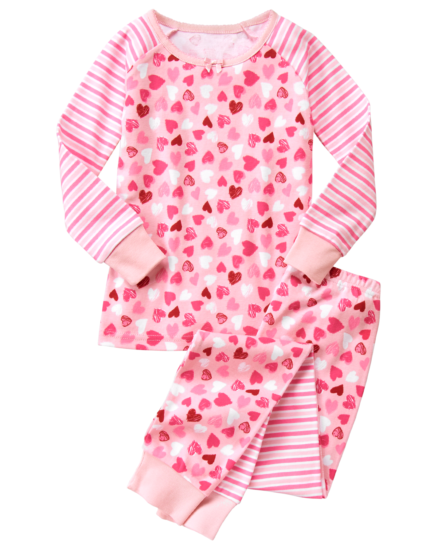 Pajamas clipart comfy clothes. Heart piece gymboree pyjamas