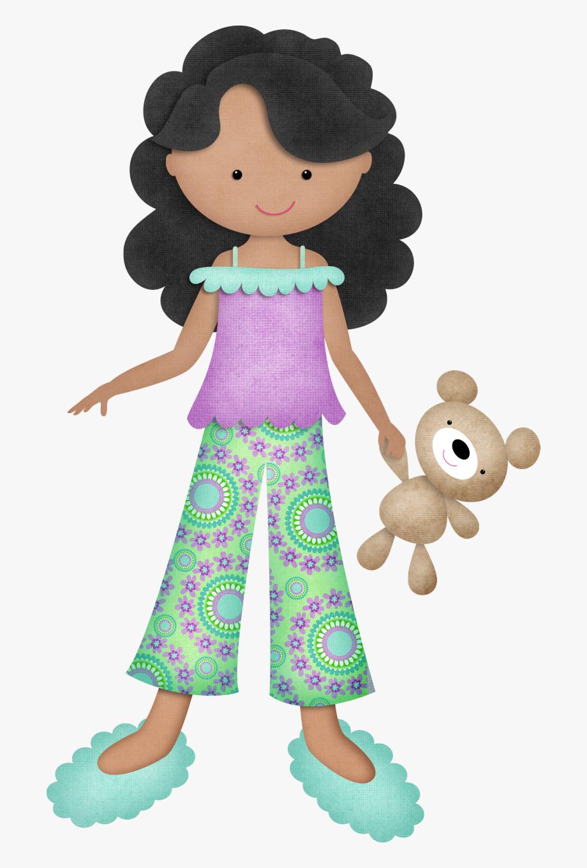 Girls cute disney put. Pajamas clipart girl pajamas