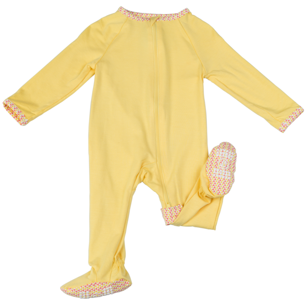 Zip footie lark adventurewear. Pajamas clipart cotton clothing