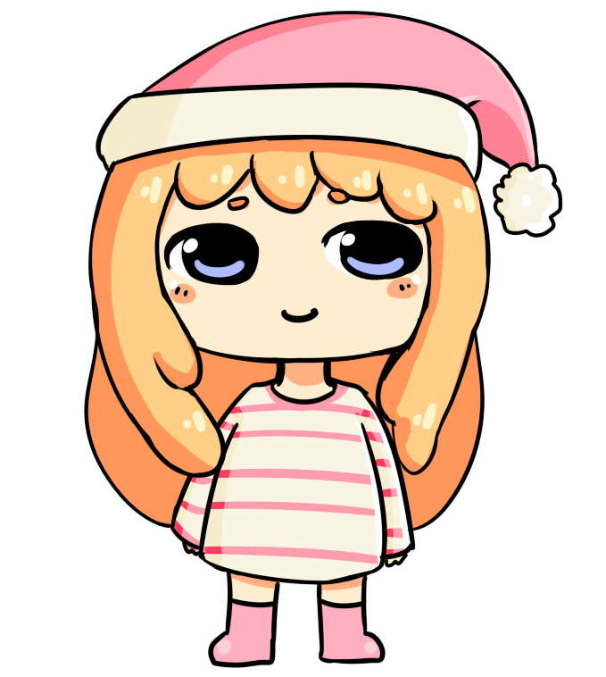 Pajamas clipart pajama time. Chibi by sprinkled donut