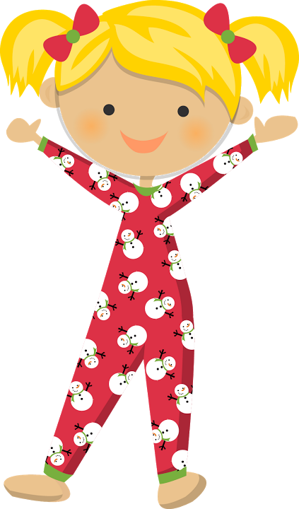 Pajamas clipart pajama time. Kids in images gallery