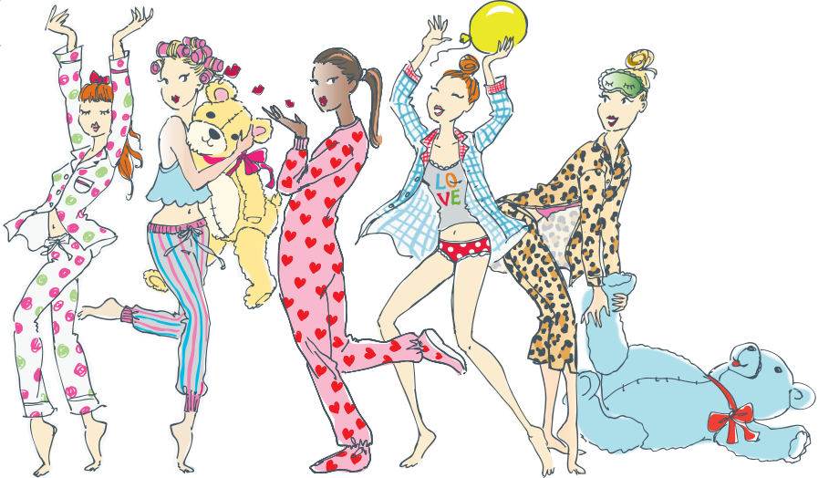 Richard leeds international ladies. Pajamas clipart pajama bottom
