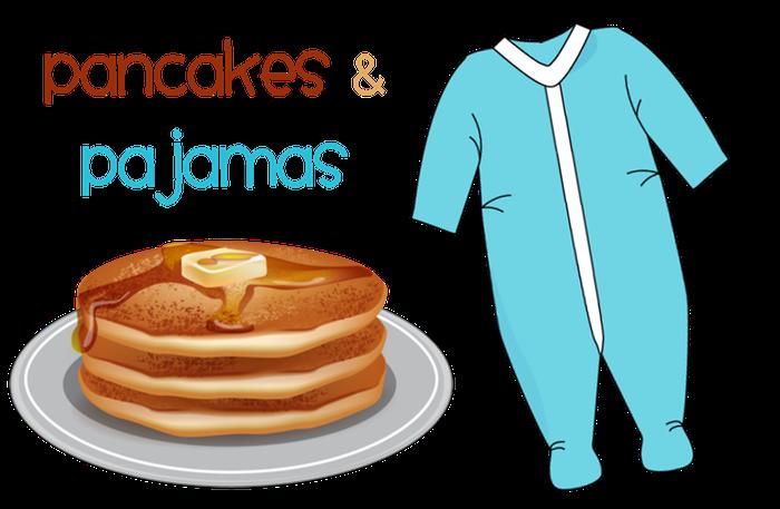 Pajamas clipart girl pajamas. Jk newsletter smore newsletters