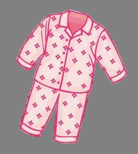 Clothing professor ozpin sleepover. Pajamas clipart transparent background