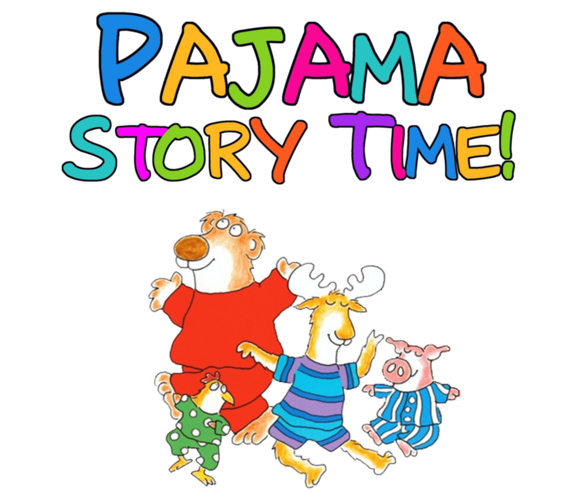 Pajamas clipart polar express. Pajama storytime all that