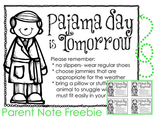 And a freebie teacher. Pajamas clipart polar express