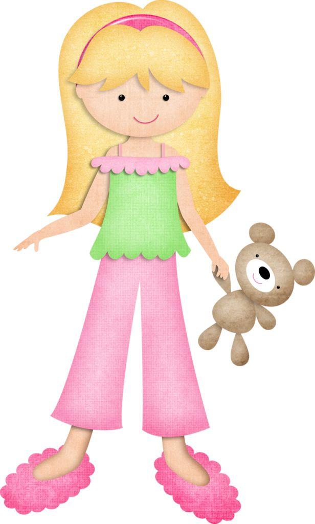 Free cute pajama cliparts. Pajamas clipart girl pajamas
