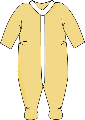Pajamas clipart yellow. Free cute pajama cliparts