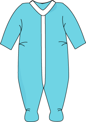 Pajamas clipart. Free for teachers clothing
