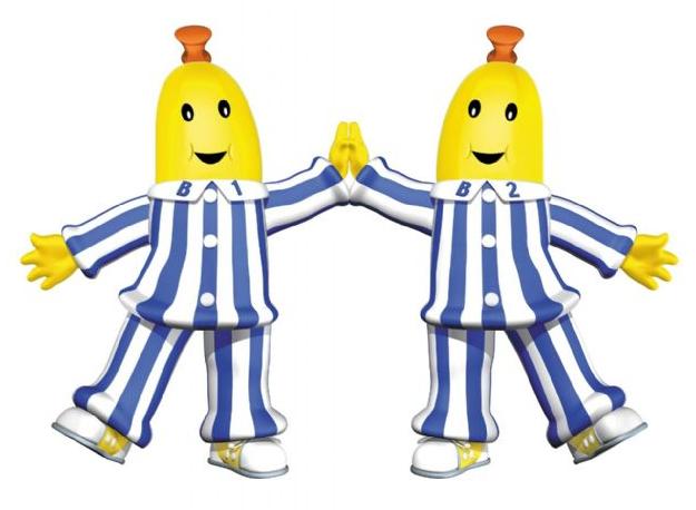 Pyjamas b gatoonn banana. Pajamas clipart bananas in pajamas