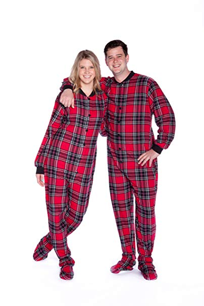 Pajamas clipart flannel. Red black plaid cotton