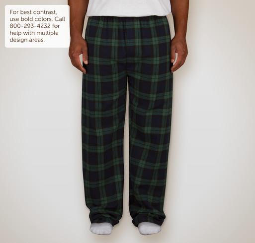 Pajamas clipart flannel. Custom design personalized plaid