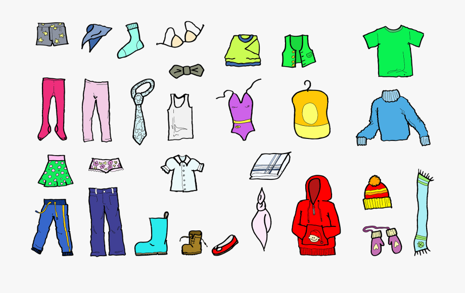 Pajama clothing clip art. Pajamas clipart footie pajamas