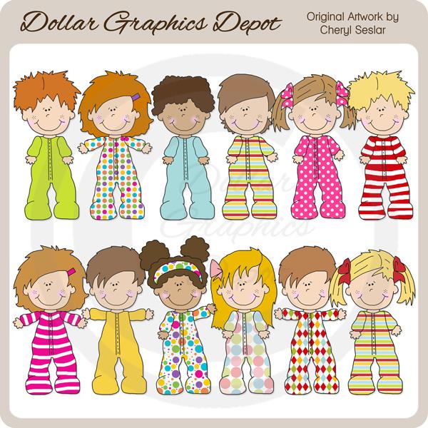 pajama clip art. Pajamas clipart last day preschool