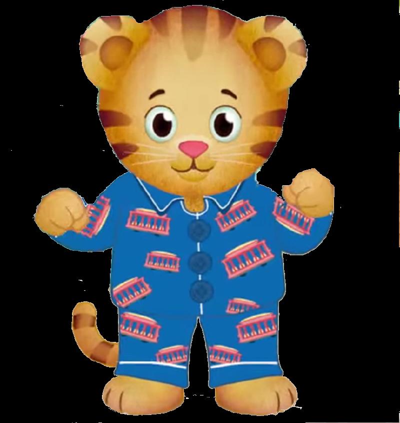 Pajamas clipart onesie pajama. Daniel tiger in by