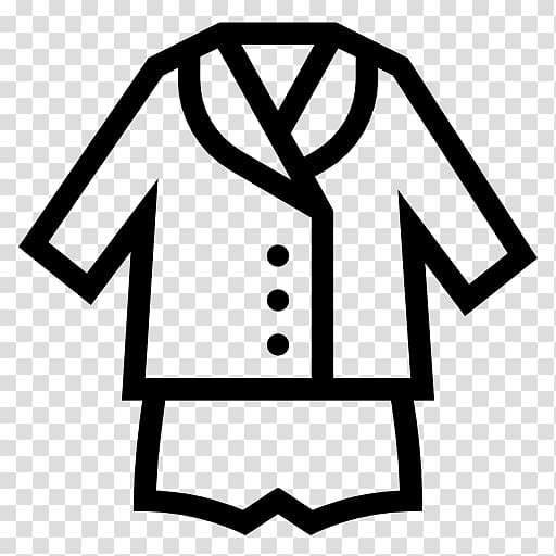 Pajamas clipart outline. T shirt computer icons