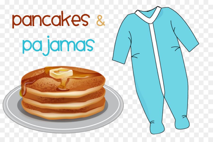 Banana bacon clothing food. Pajamas clipart pancake