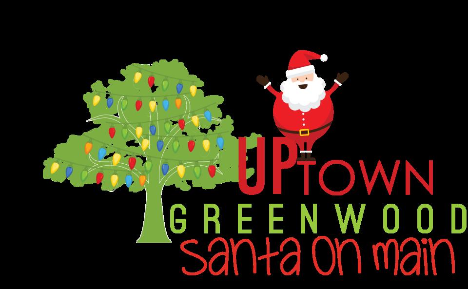 On main uptown greenwood. Pajamas clipart santa