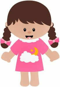 Pajamas clipart woman pajamas. Kids in free download