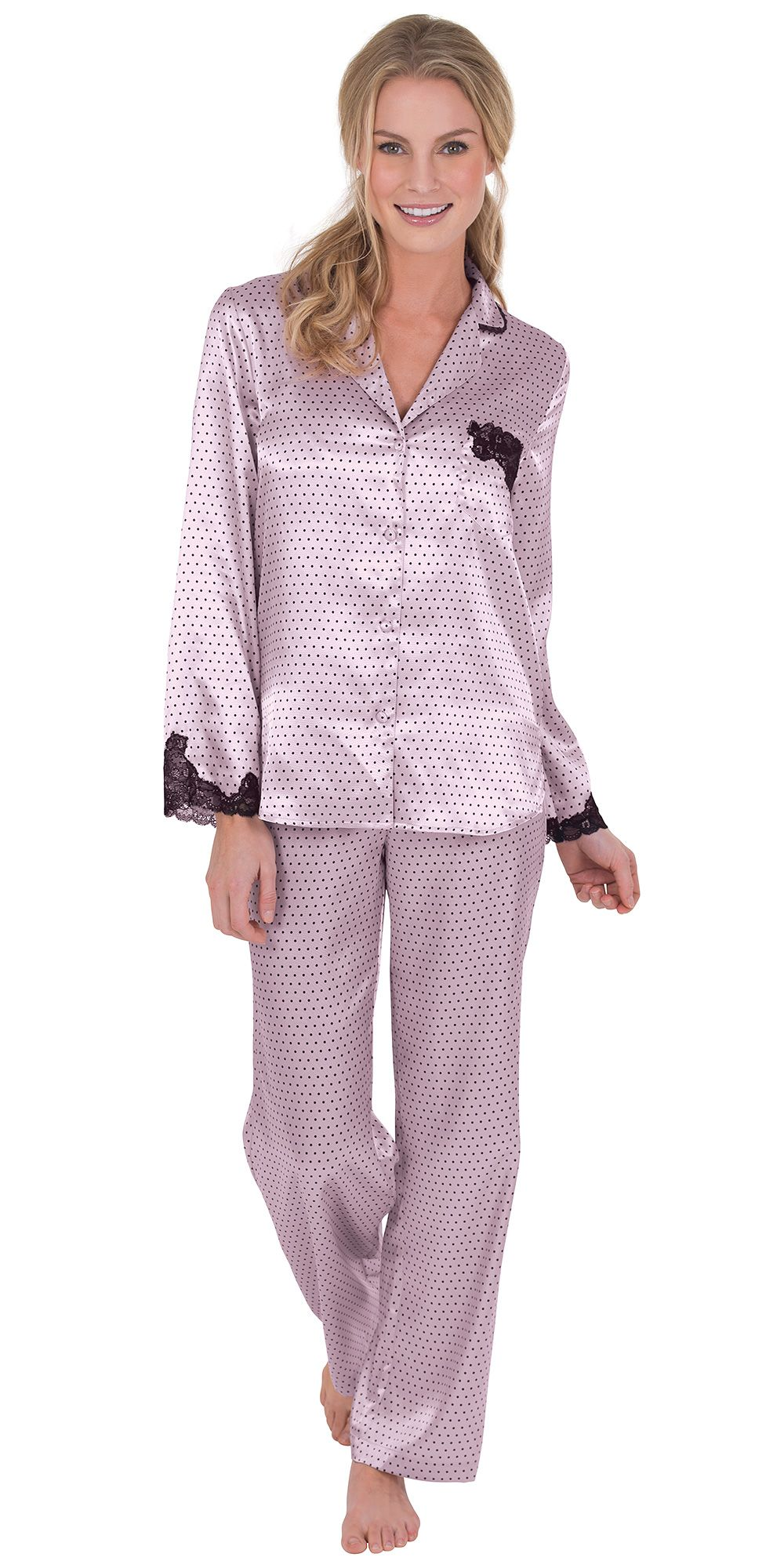 Satin for women men. Pajamas clipart woman pajamas