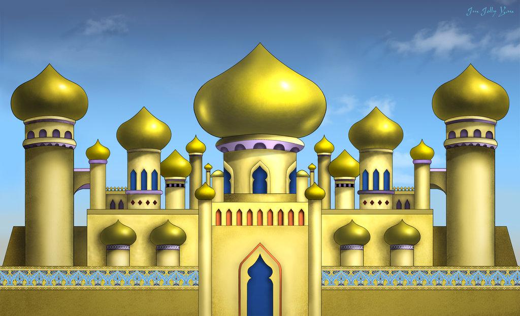 Arabian . Palace clipart