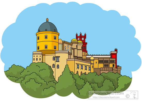 Palace clipart. Europe pena national in