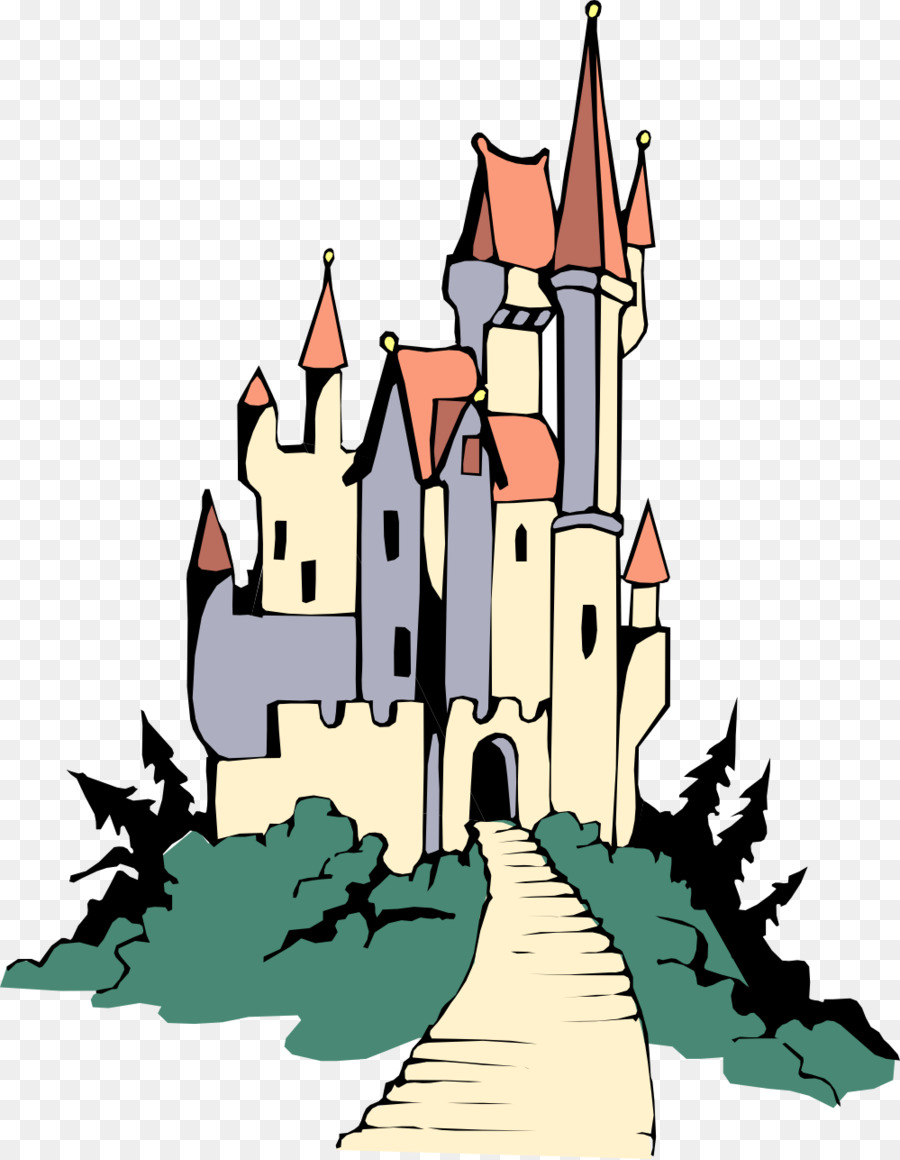Cinderella castle sleeping beauty. Palace clipart