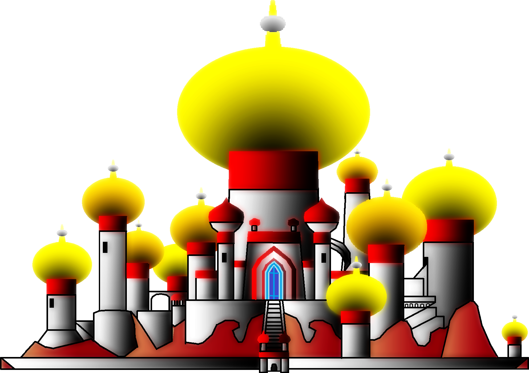 Palace clipart agrabah. By ryanh on deviantart
