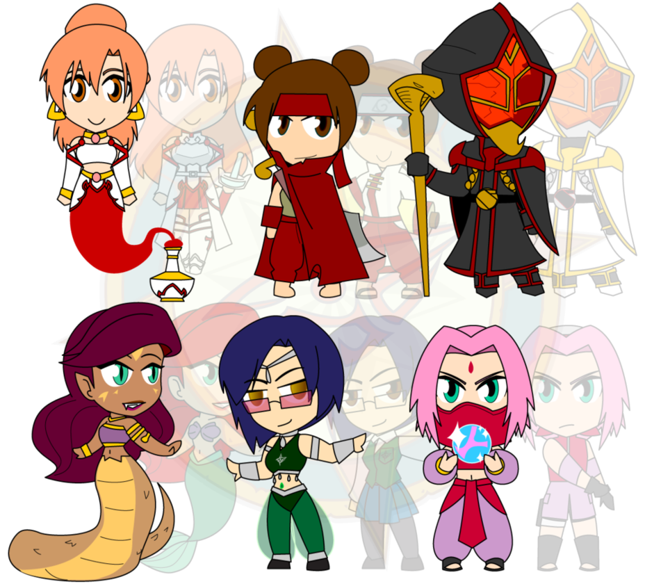 Palace clipart arabian palace. Assorted chibis au tales