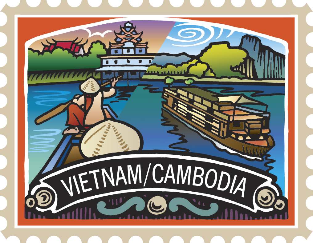 Vietnam and adventure vacation. Palace clipart cambodia