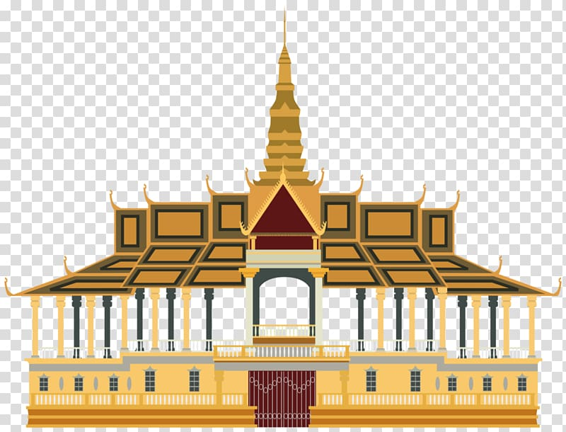 Palace clipart cambodia. Royal phnom penh national