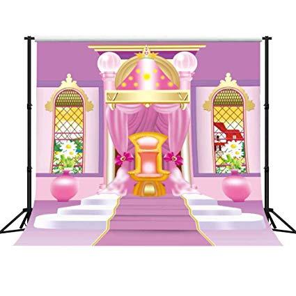 Palace clipart castle barbie. Amazon com gesen pink
