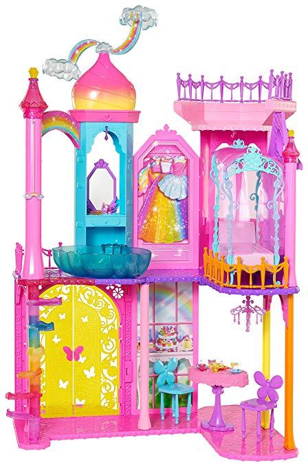 Rainbow cove playset . Palace clipart castle barbie