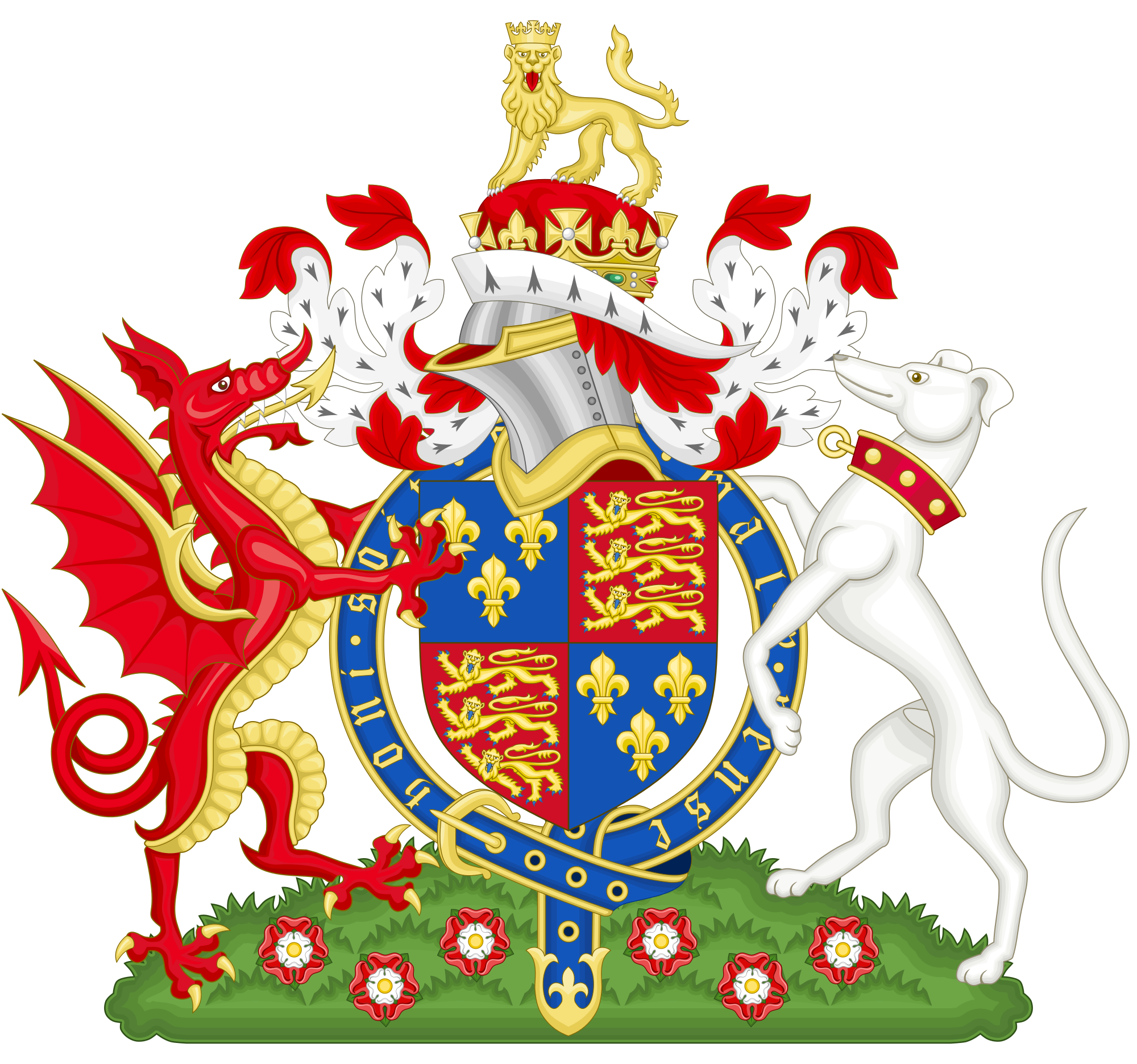 The coat of arms. Palace clipart castle welsh