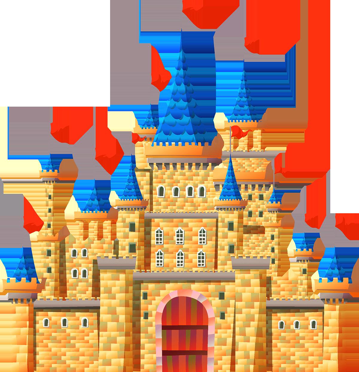 Castle clip art cartoon. Palace clipart castleclip