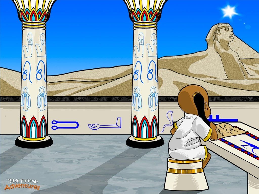 Palace clipart egyptian palace. Moses grew up in