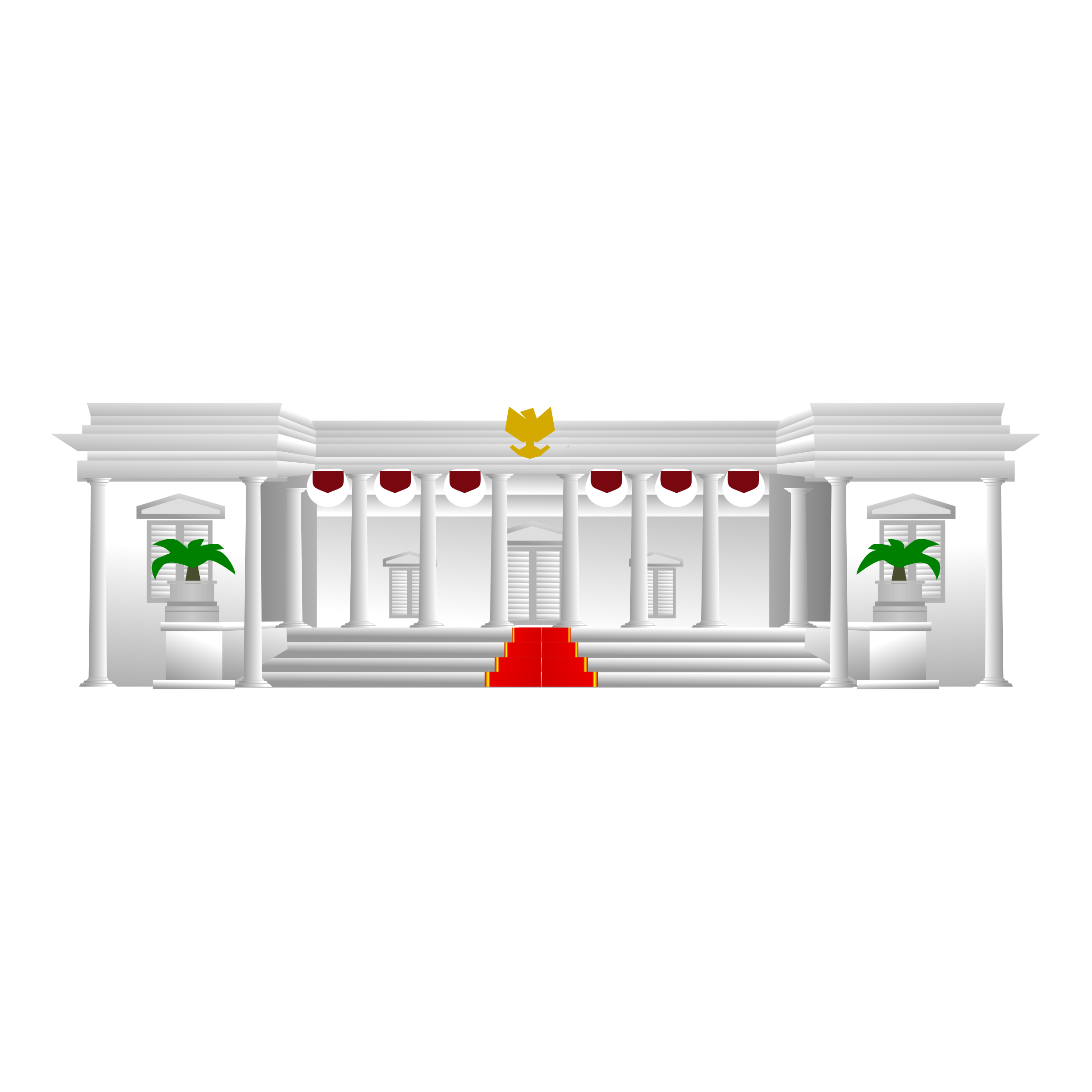 Presiden indonesian presidential big. Palace clipart istana