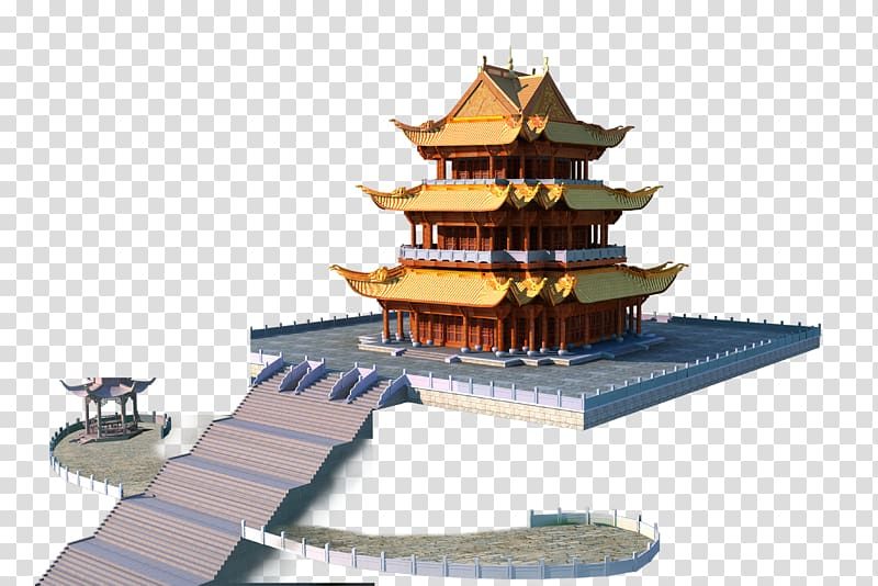 Palace clipart pagoda chinese. Architecture creative transparent