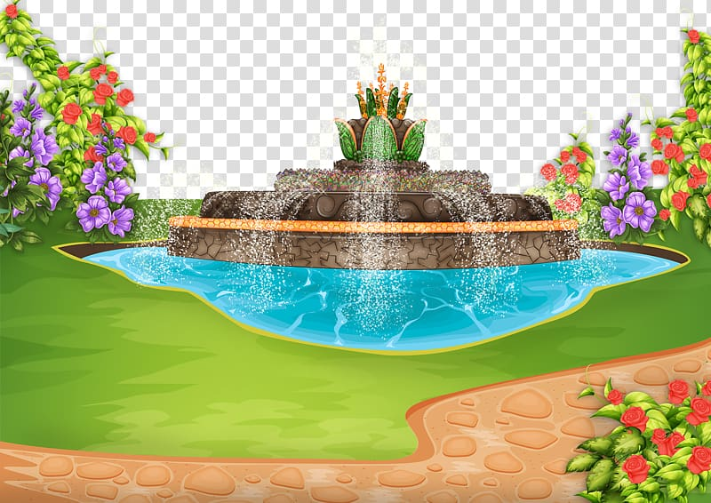 Color transparent background png. Palace clipart palace garden