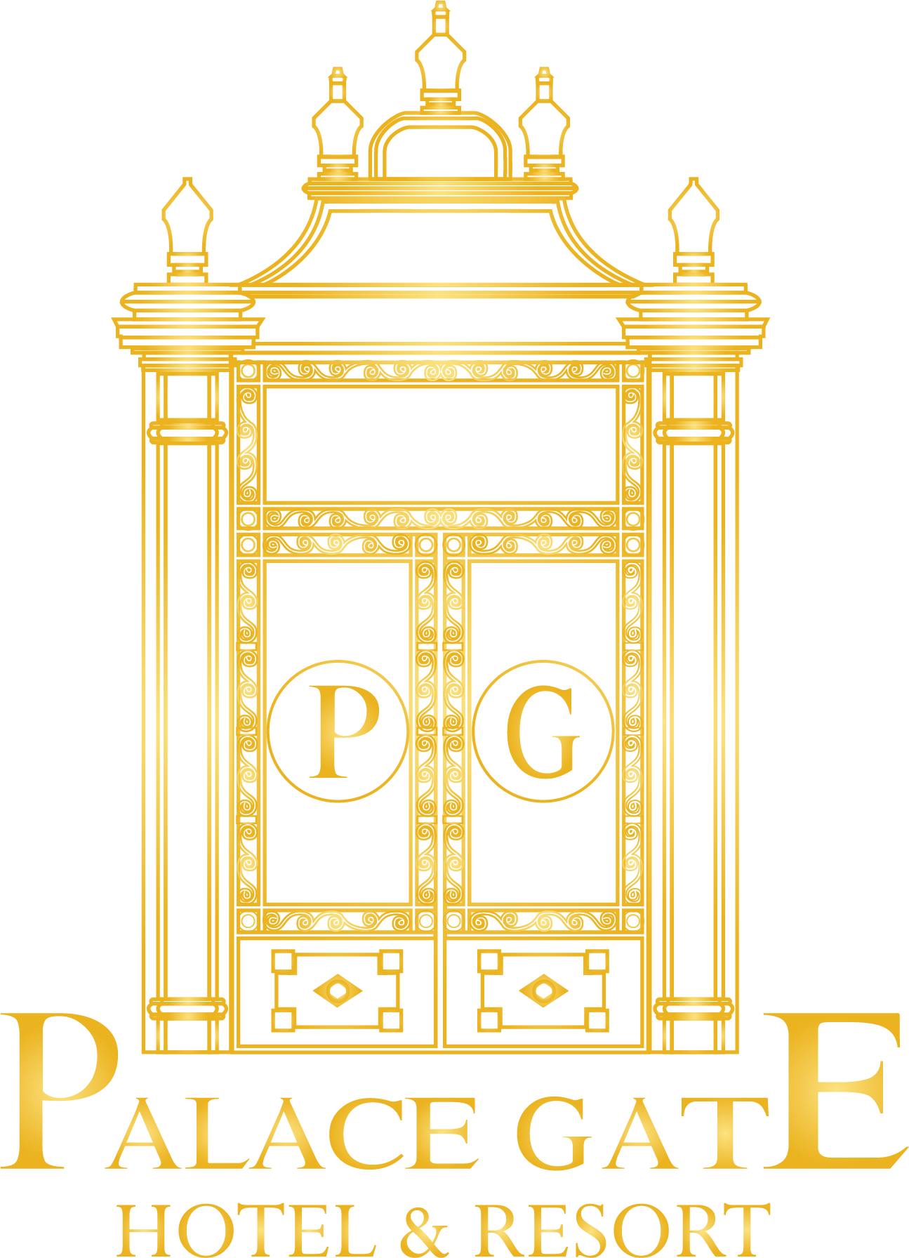 Palace clipart phnom penh png. Gate hotel resort your