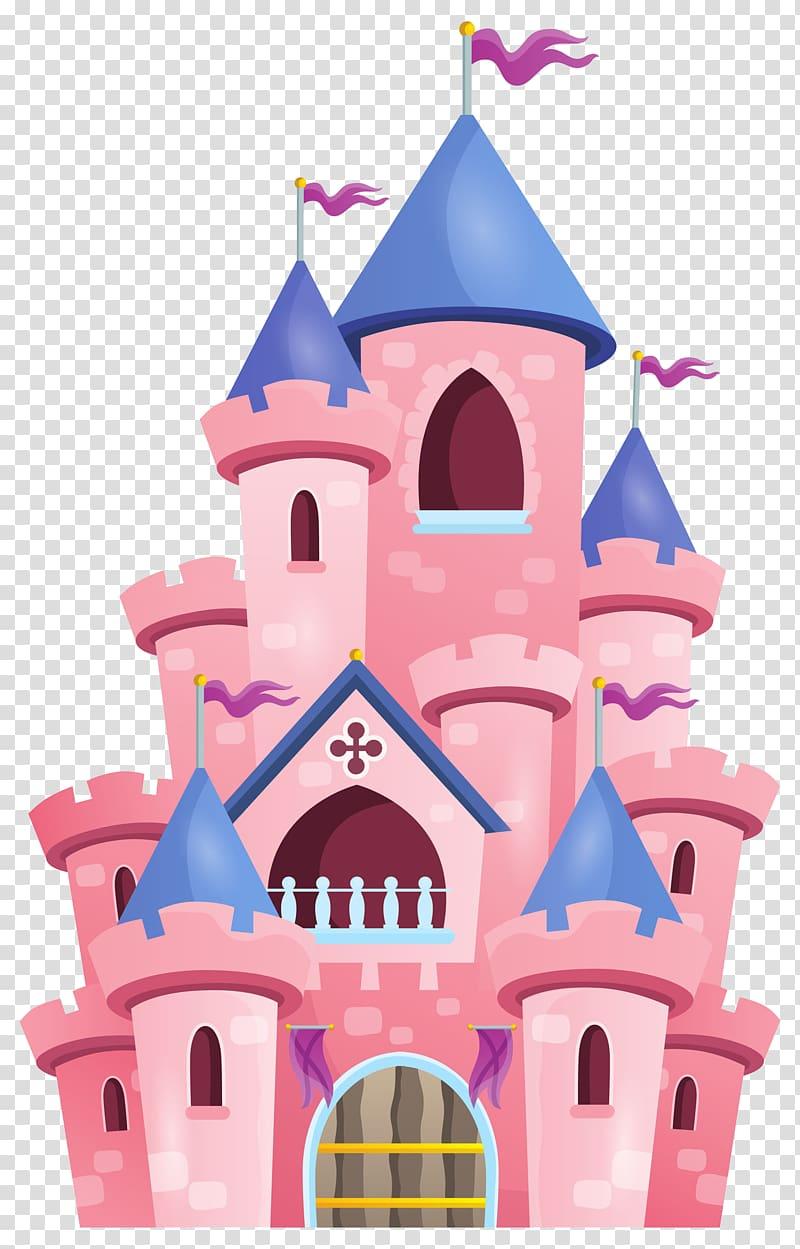 Palace clipart pink castle. Illustration princess