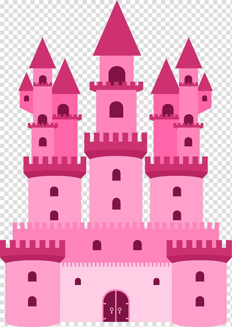 Palace clipart pink castle. Vecteur hall transparent